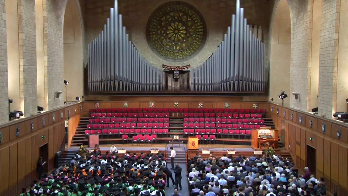 Inside Winthrop Hall