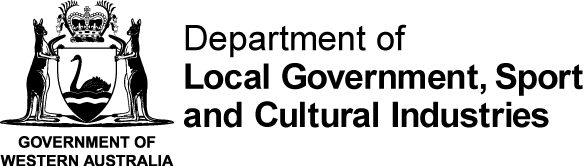 Western Australian Department for Culture and the Arts logo