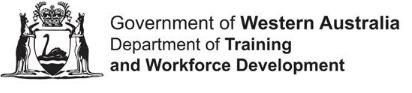 Western Australian Government Department of Training and Workforce Development logo