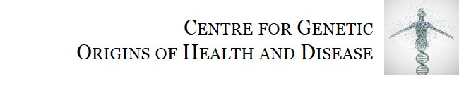 Centre for Genetic Origins of Health and Disease logo
