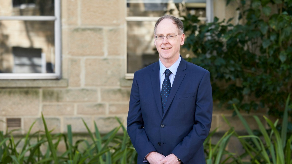 Head of School, Peter Robertson at The University of Western Australia
