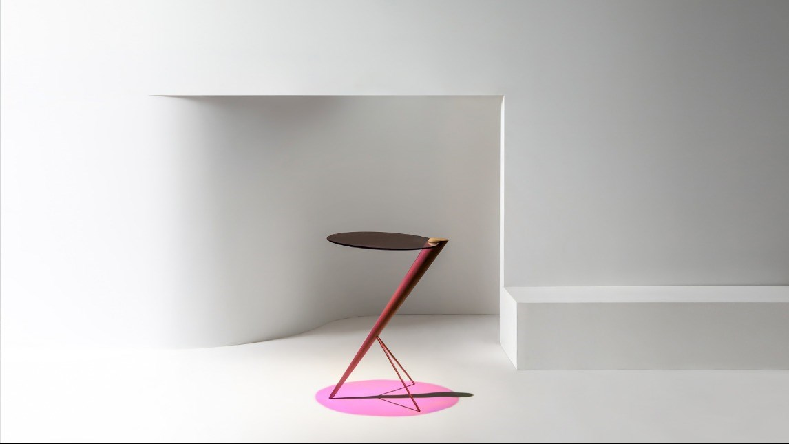 'Chroic Side Table' designed by Callan Kneale