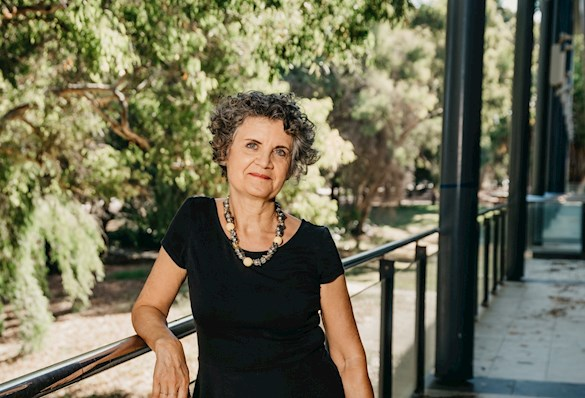 Professor Hélène Jaccomard at UWA