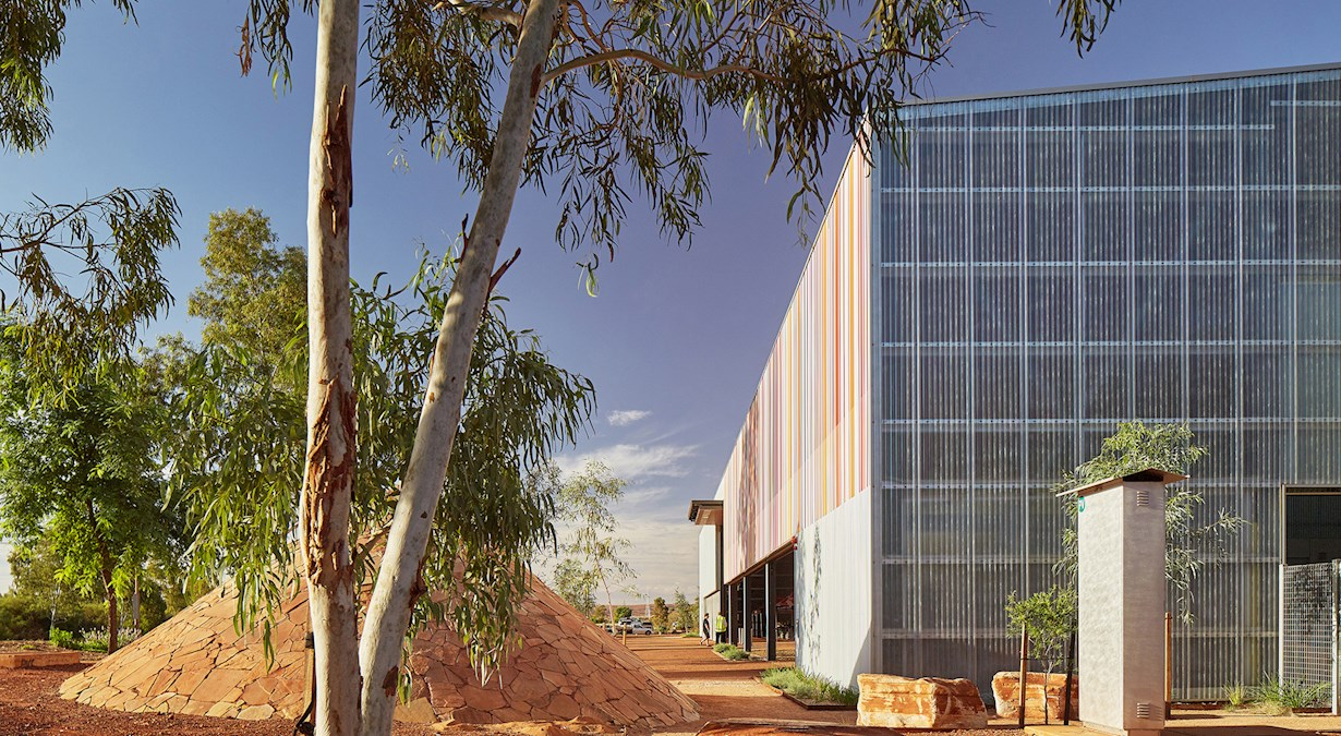 East Pilbara Arts Centre rear view