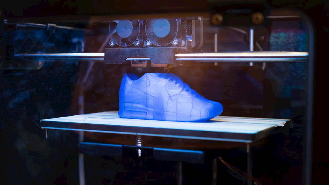image of 3D printed running shoe
