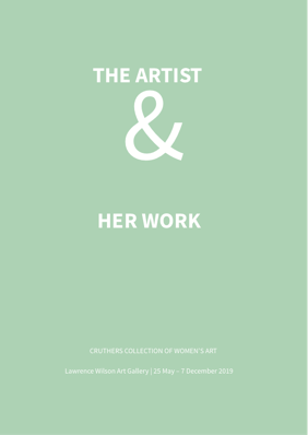 The Artist And Her Work