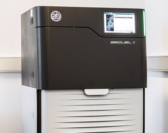 Long read sequencing machine