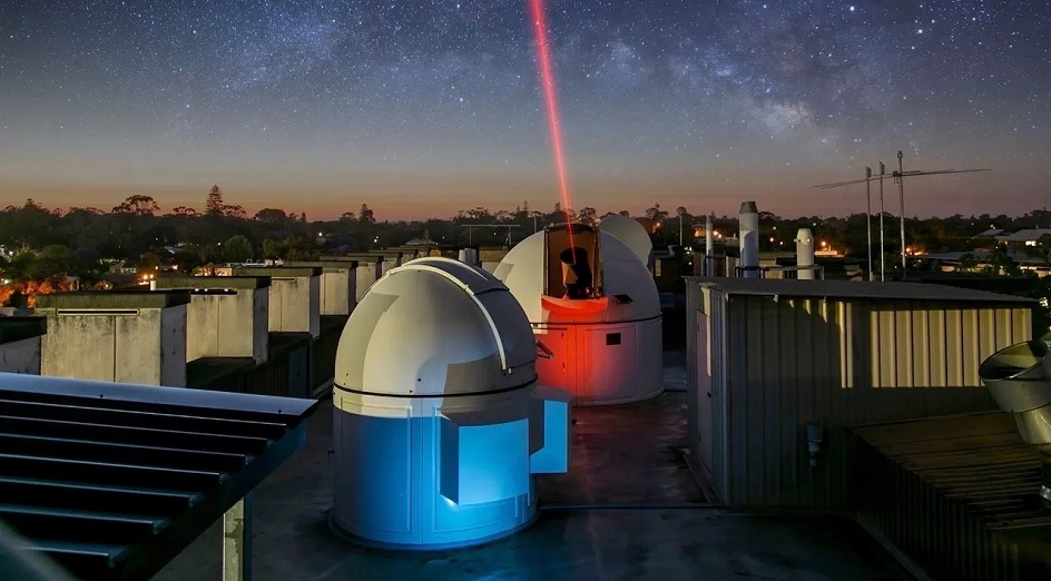Optical ground station testing facility