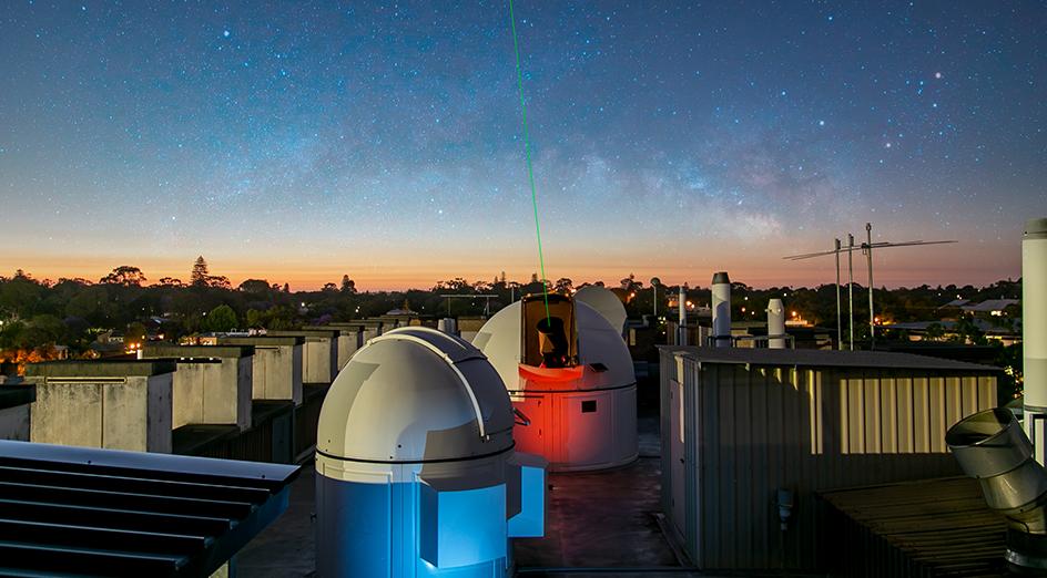 IMAGE DESCRIPTION  - Space radar Card template   944x522 - International Space Centre to advance optical communications