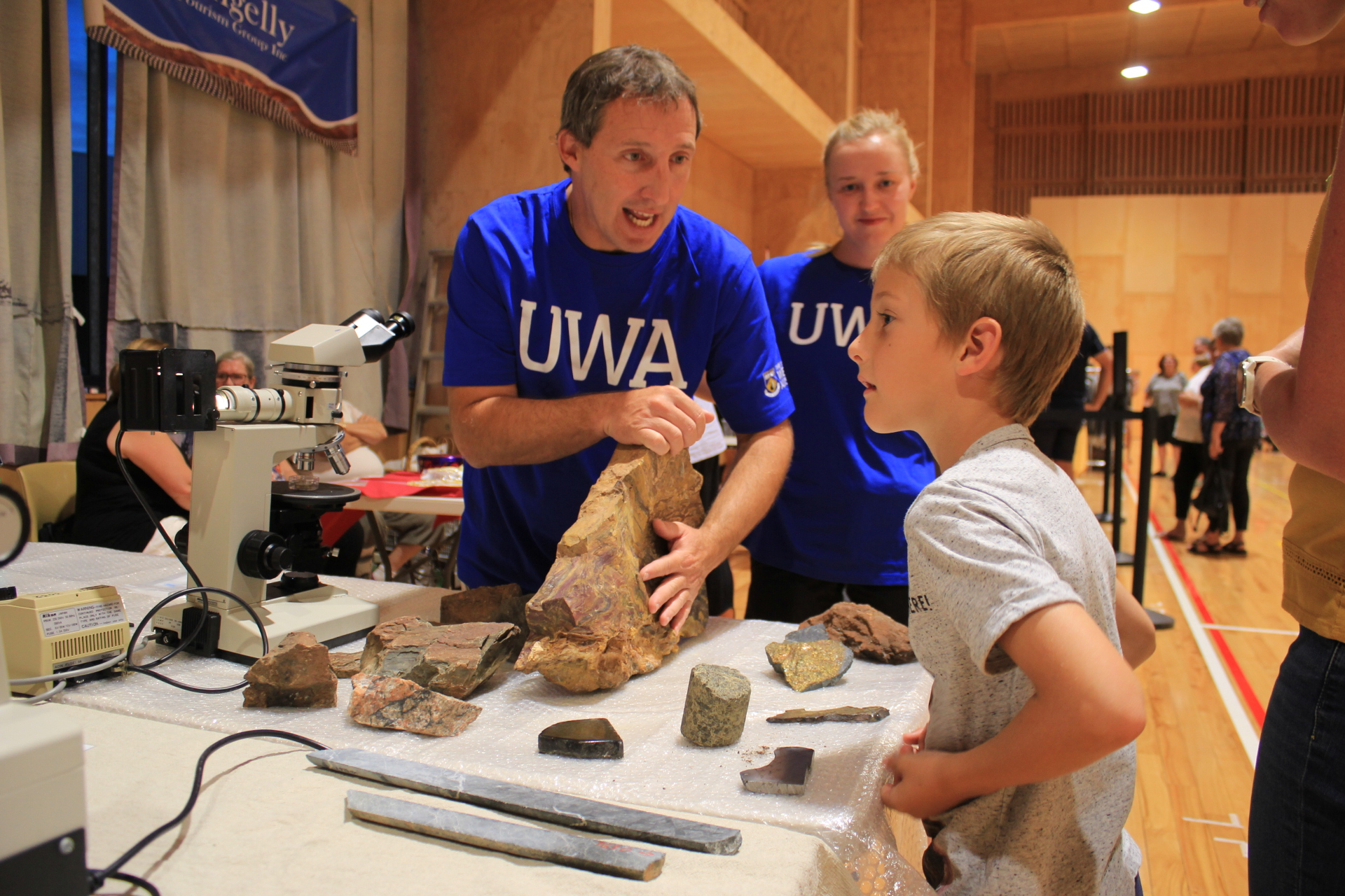 The UWA School of Agriculture and Environment attracted many visitors.