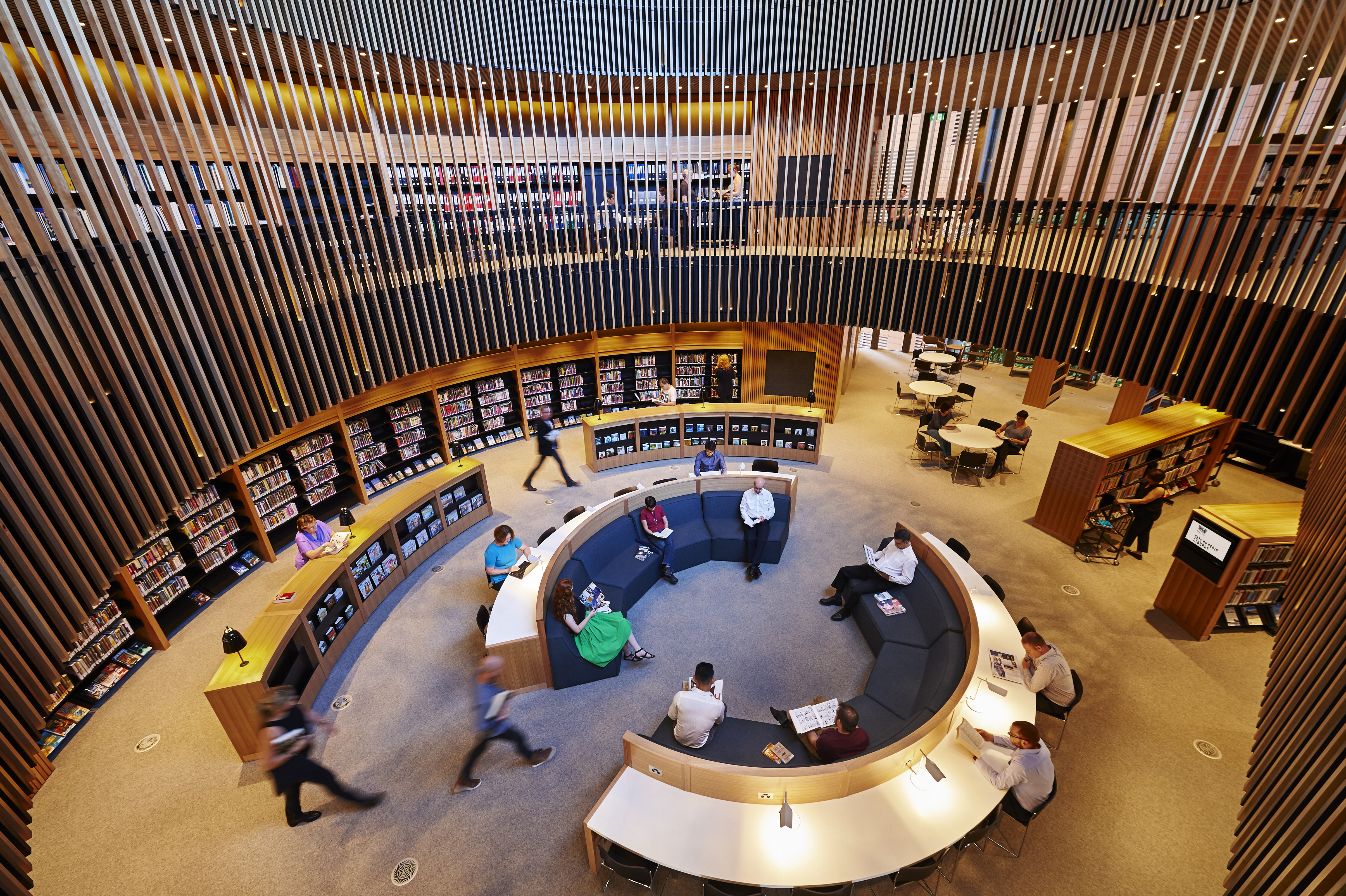 City of Perth Library interior