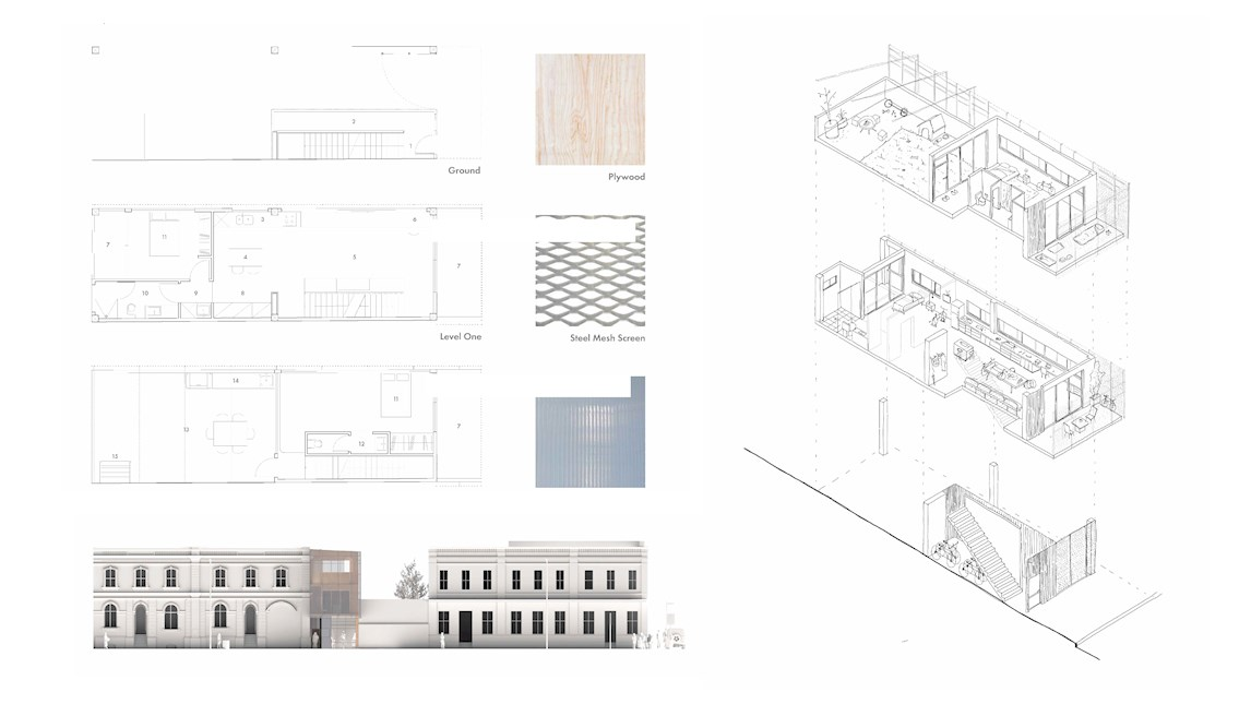 '13 Mouat' project by UWA architecture students Alec James and Nicholas Thuys