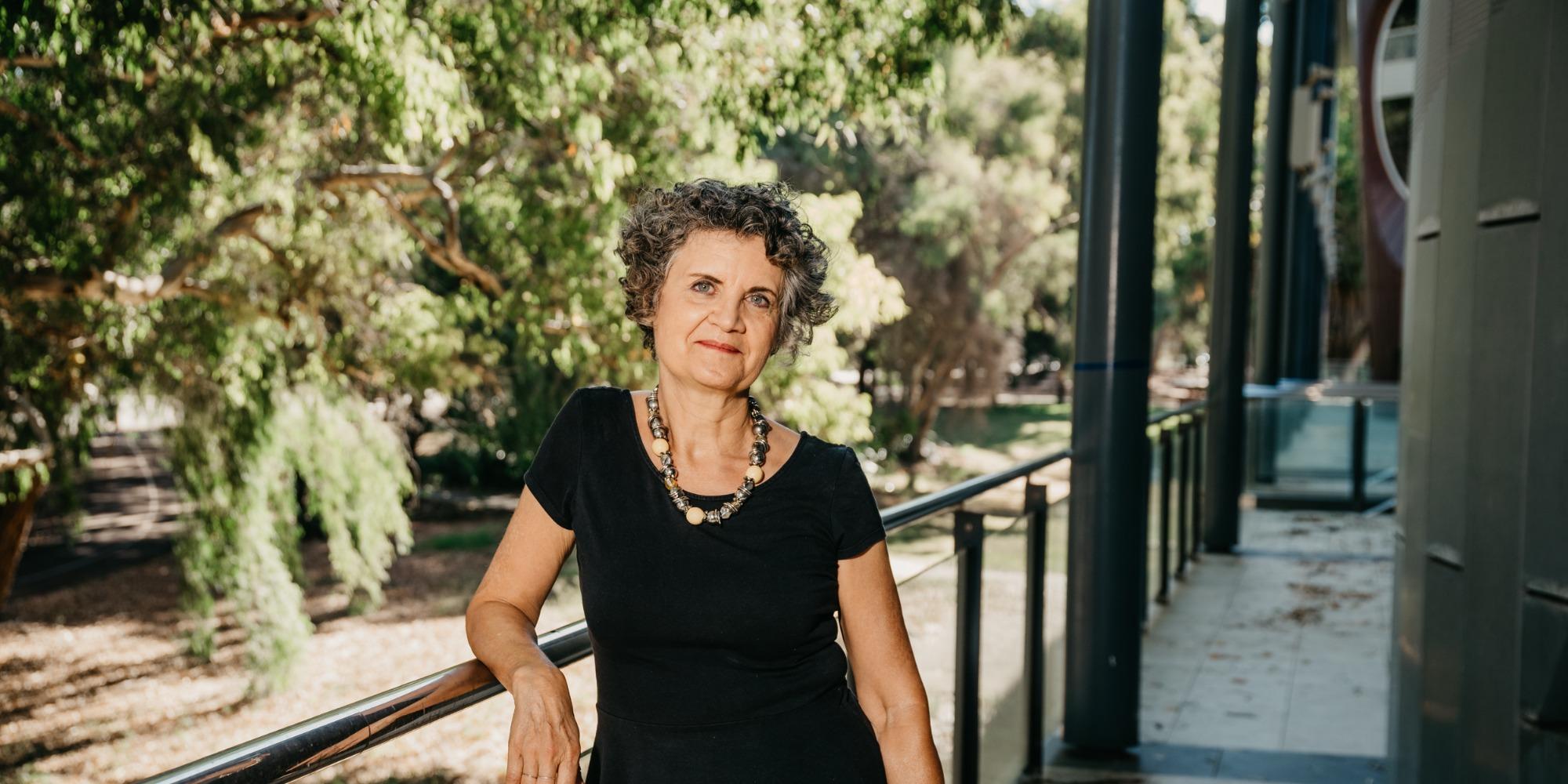 Professor Hélène Jaccomard at UWA