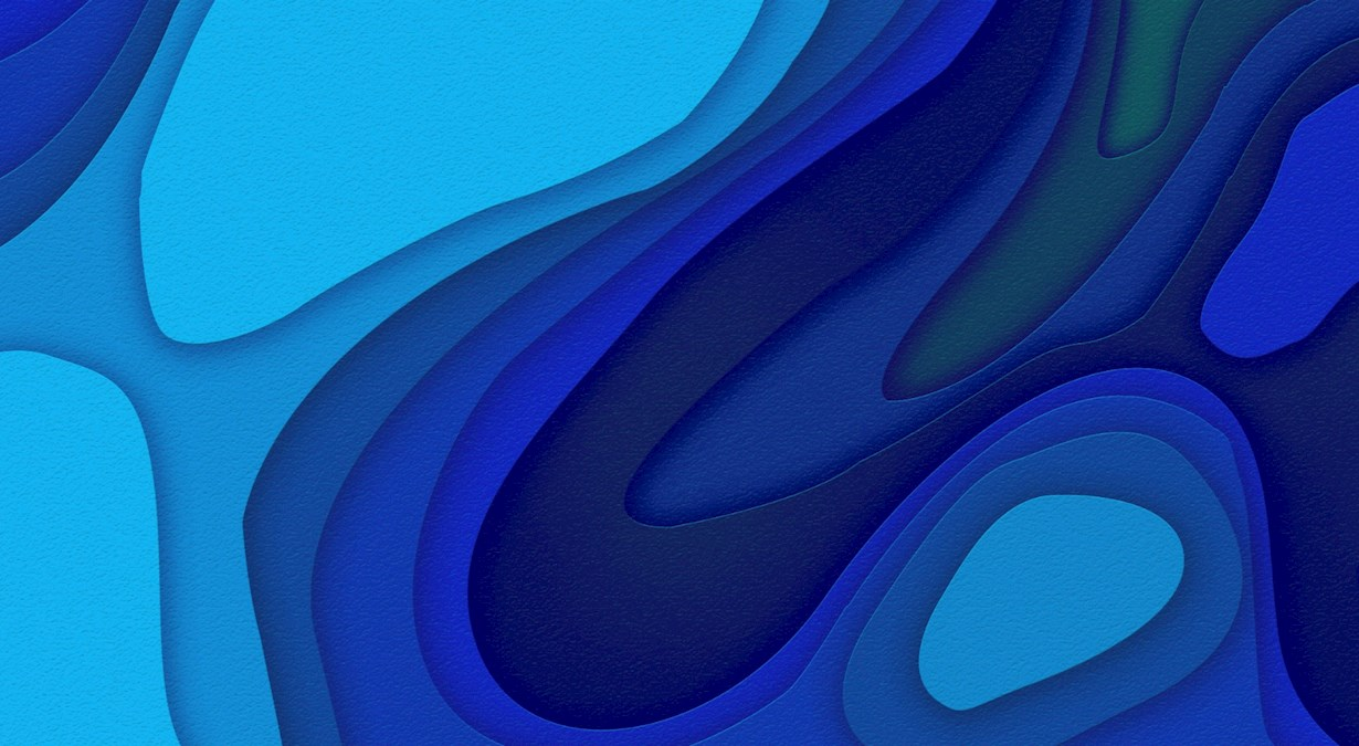 Graphical blue texture
