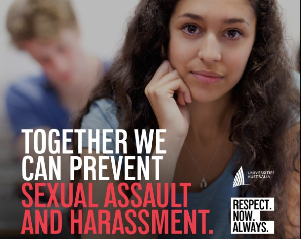 Text: Together we can prevent sexual assault and harassment