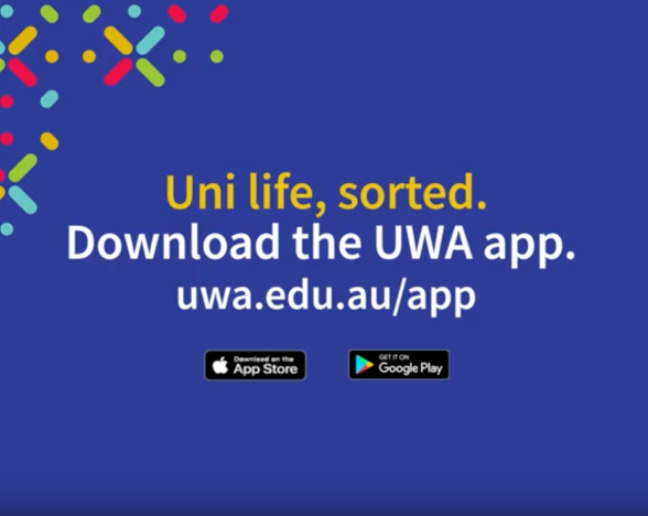 Uni life. sorted. download the app