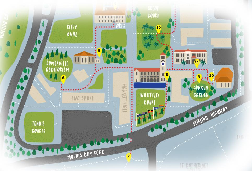 St Catherine University Campus Map.Campus Tours
