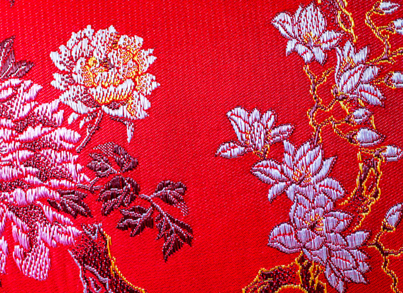chinese embroidered cloth