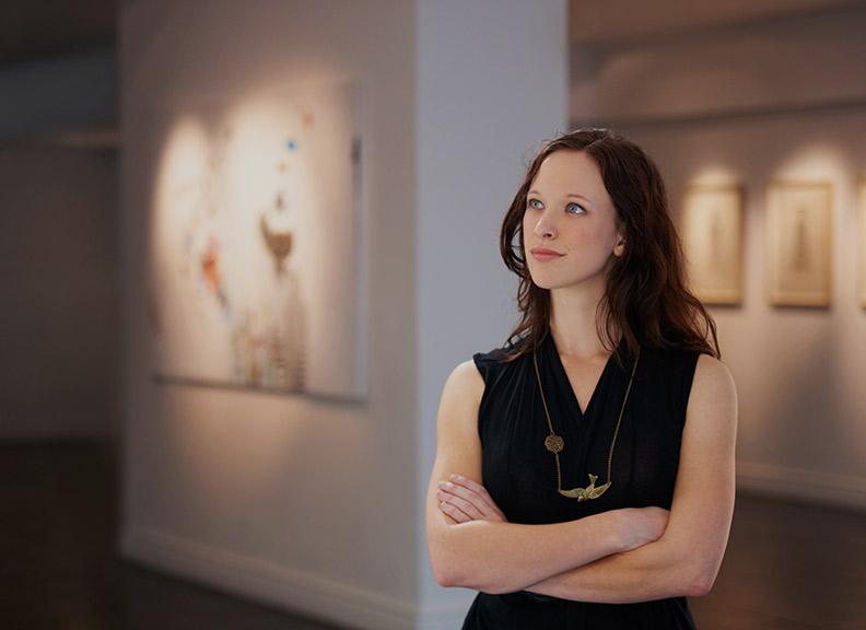 Curator Gallery Or Museum